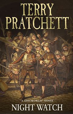 Graphic photo of book cover for Night Watch by Terry Pratchett